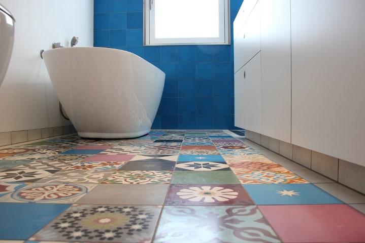 Badkamer  - Azule tegels