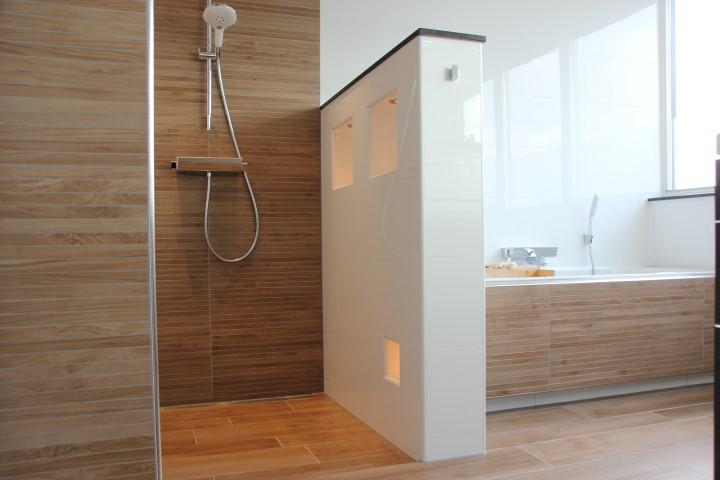 Tegelwerk badkamer Moordrecht